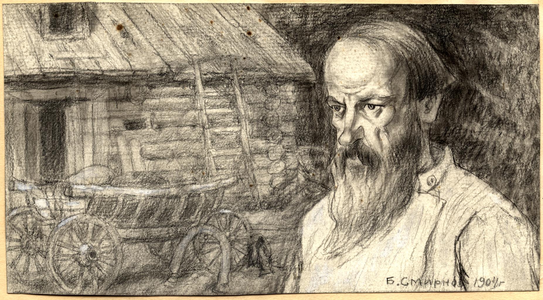 Крестьянин-переселенец, осевший в Иркутской губернии