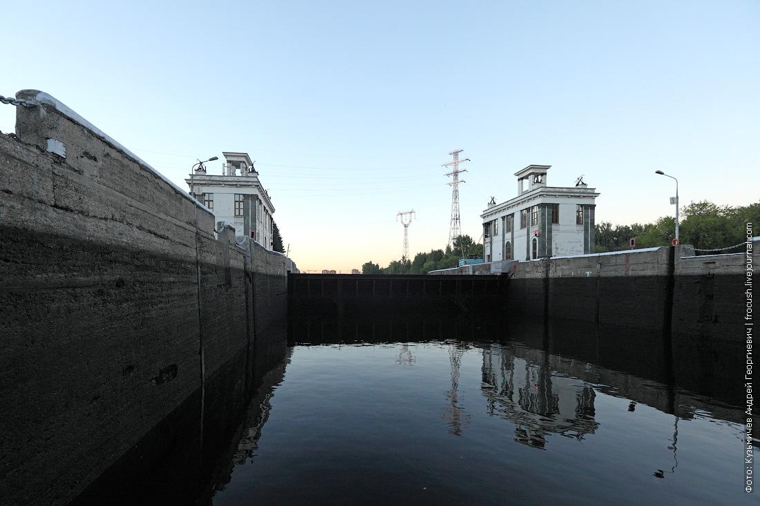 фотография шлюз №7 канала имени Москвы