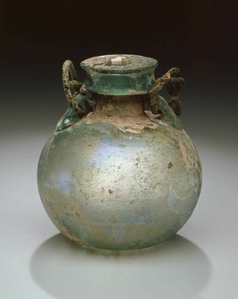 Roman, Oil flask, 1st-2nd century