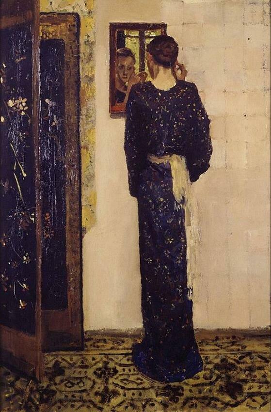 Серьга (1893)Георг Хендрик Брейтнер (1857–1923), Музей Бойманса — ван Бёнингена, Ротердам