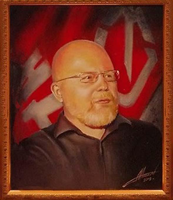Портрет Константин Крылова, художник Виктор Низовцев