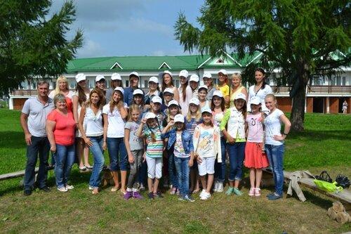 В Творческой школе Новые имена в Суздале, июль-август, 2013