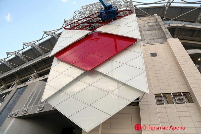 Стадион «Спартак» июнь 2014