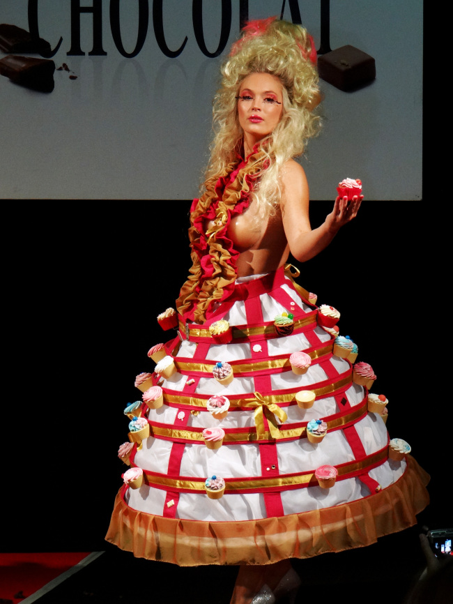 First Chocolat Fashion Show in London