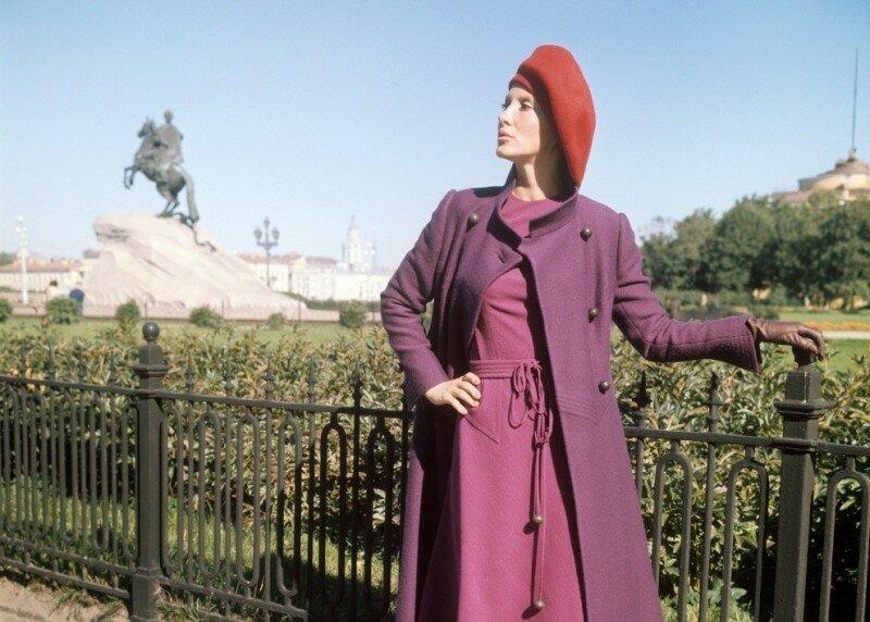 Высокая советская мода 1968-1972 в фотографиях ТАСС