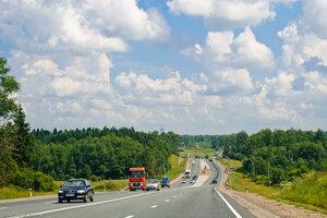 Трасса М-1, Смоленская область