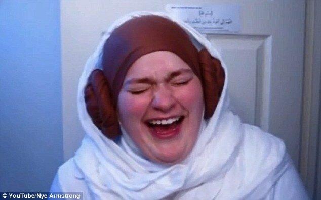 Жёсткий троллинг мусульман