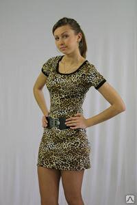 Платье женское «Венера» с коротким рукавом