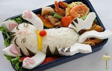 Японские детские завтраки