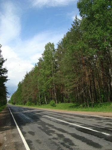 Отдых в Беларуссии: дорога