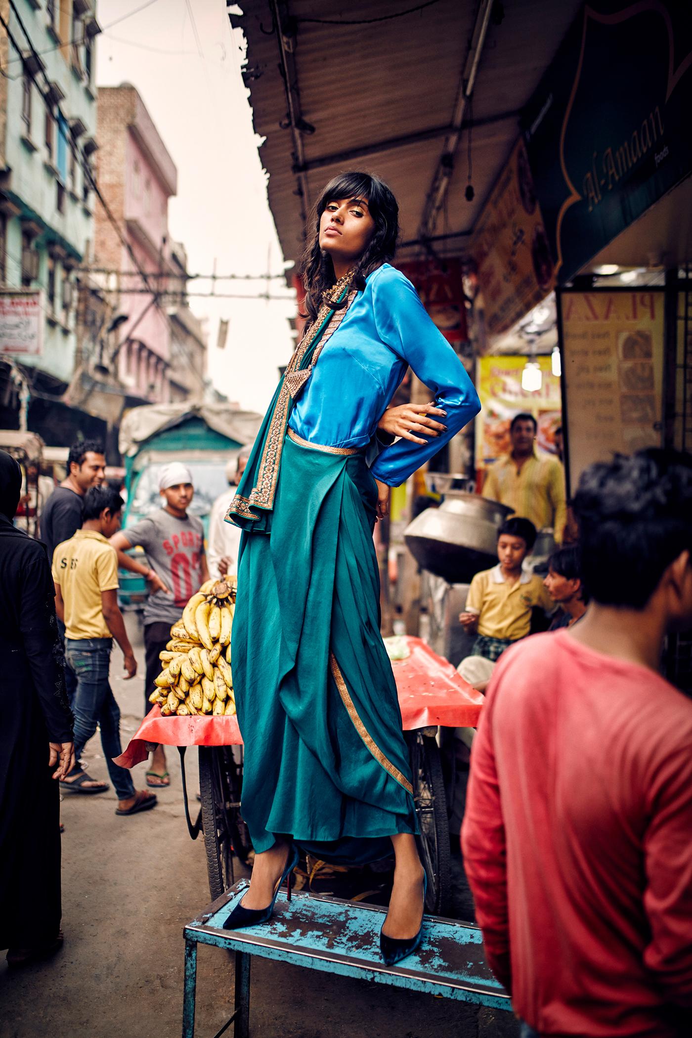GRAZIA Индия октябрь 2017 / фото Arsh Sayed