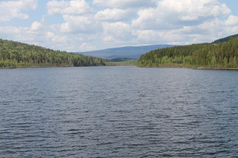 Киалимское водохранилище (13.06.2013)