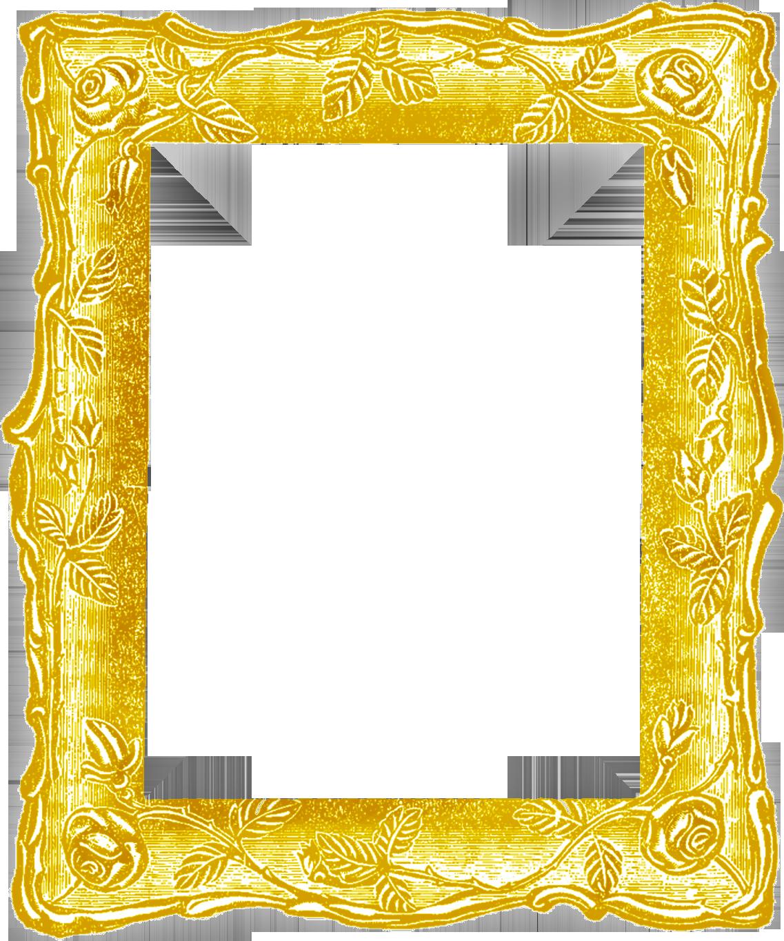 золотистая рамка для фото с именем этой категории