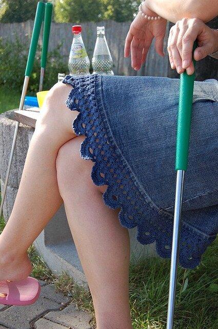 вязание и ткань