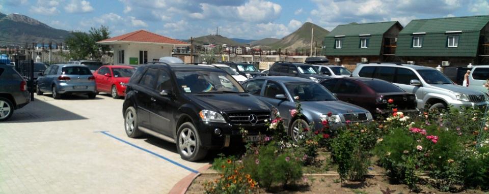 Охраняемая парковка Частный коттеджный поселок «ДИМ»