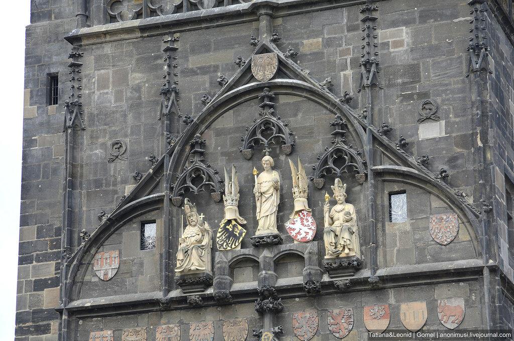 Мелкие элементы Праги. Чехия