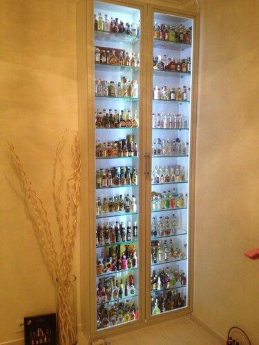 Моя коллекция - маленькие бутылочки!