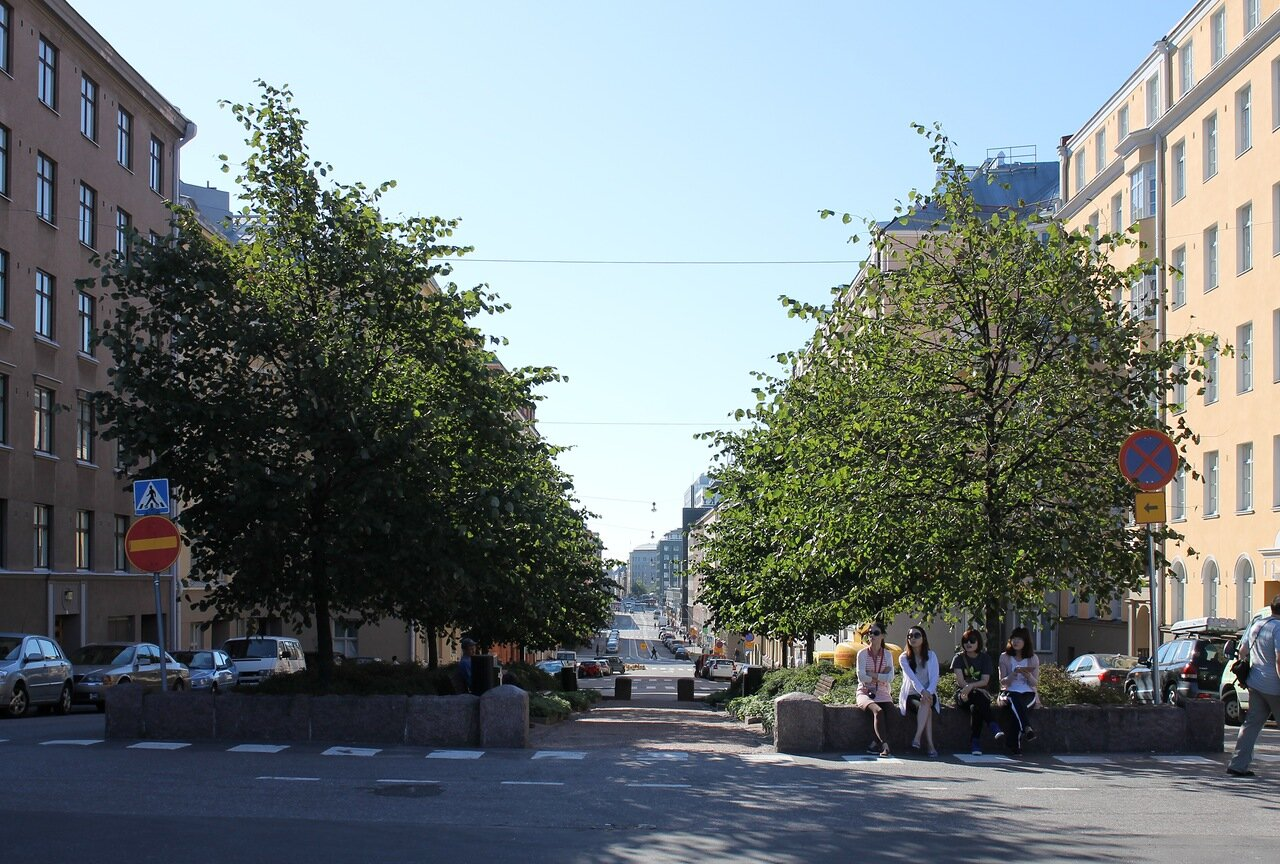 Хельсинки. Храмовая площадь. Helsinki,