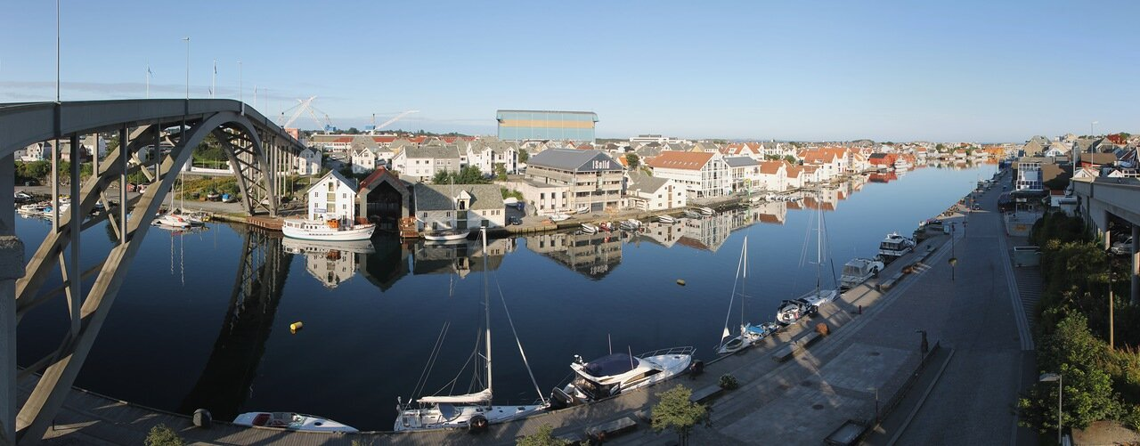 Haugesund, Хаугесунд, panorama