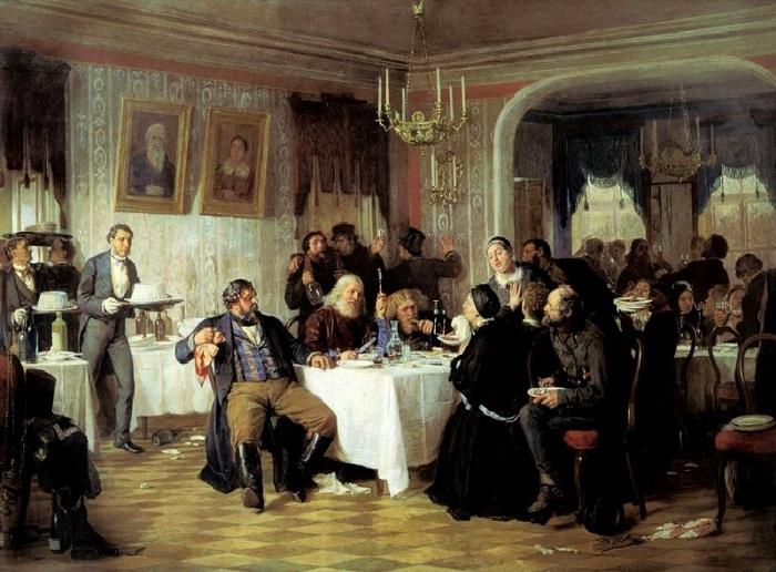 Фирс Журавлев, 1876 год Купцы — люди, как правило, не слишком воспитанные и образованные — забыли, п