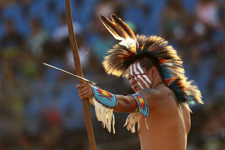 1. 23 октября 2015 в Бразилии, город Палмас прошло открытие 1-х Всемирных Игр коренных народов. (Фот