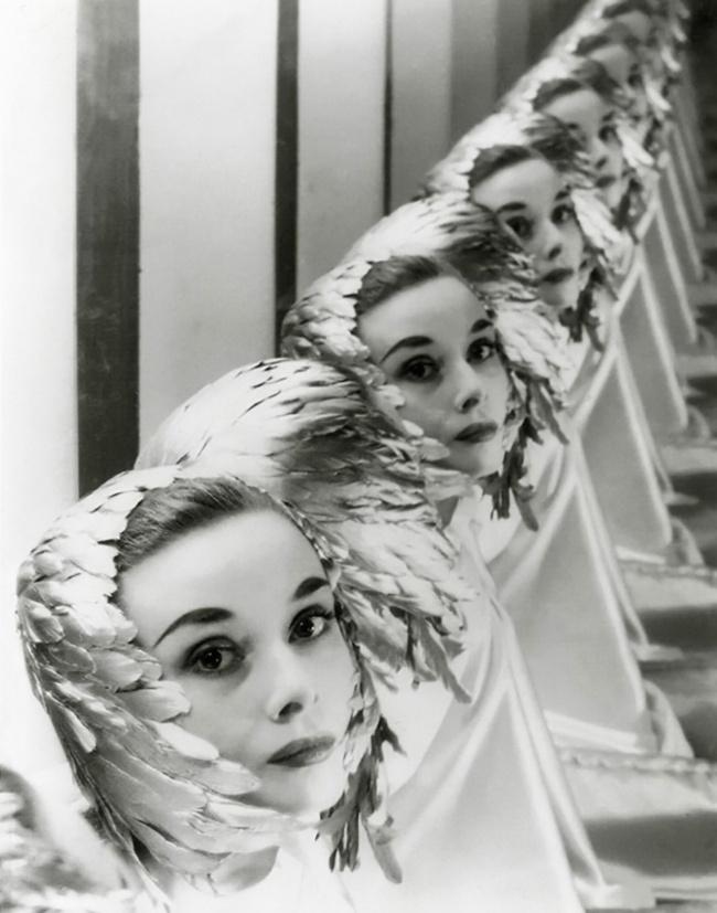 Настудии вНью-Йорке. Фотограф: Эрвин Блюменфельд. Май 1952г.