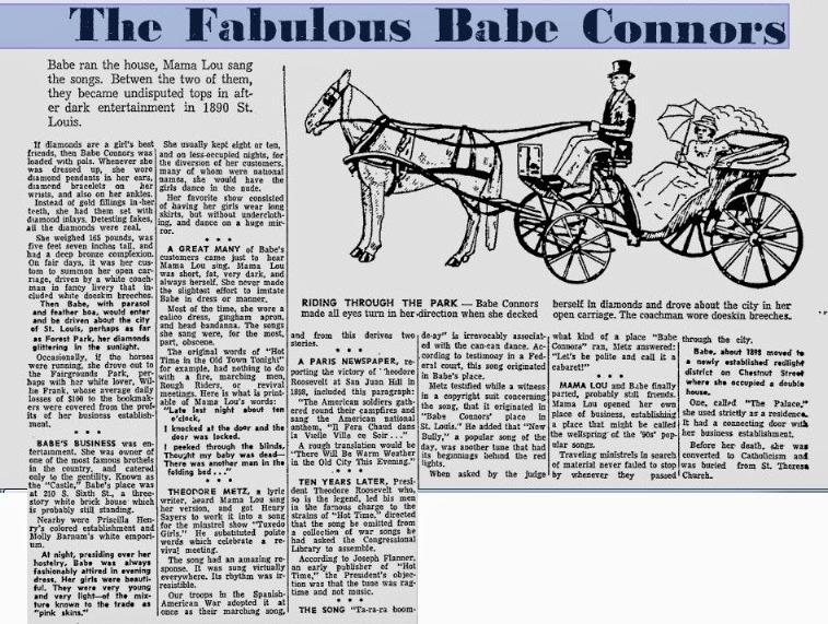 Статья о Бейб Коннорс и ее 'Замке'