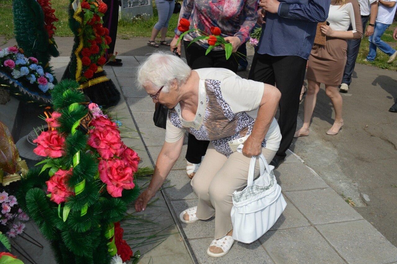 День памяти и скорби в Куйбышеве