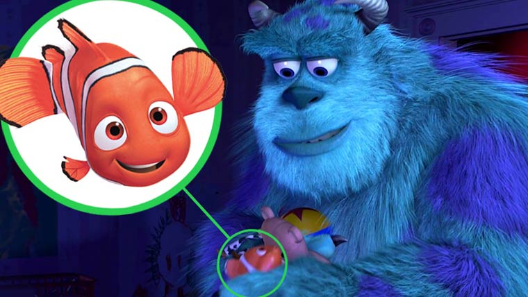 Pixar - All the hidden easter eggs and secrets
