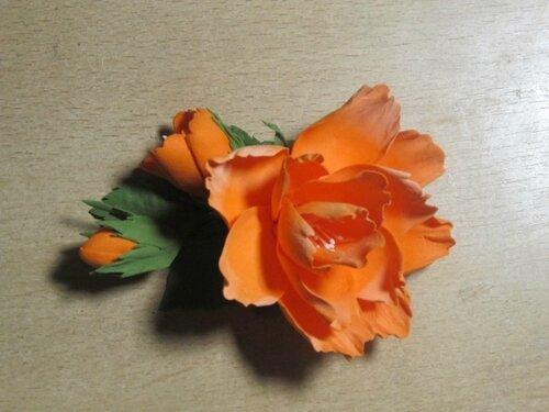 Цветы из фоамирана от Хал_Лизы
