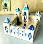 Замок Снежной Королевы.