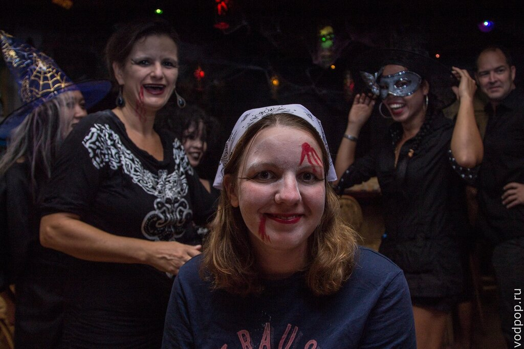 Хеллоуин в Арт Кафе Эль Нидо