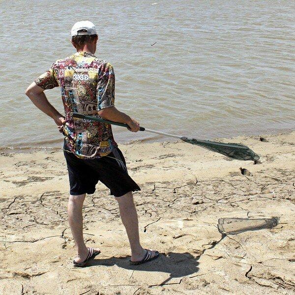 Шесть дней в Казахстане. Рыбалка в Атырау.