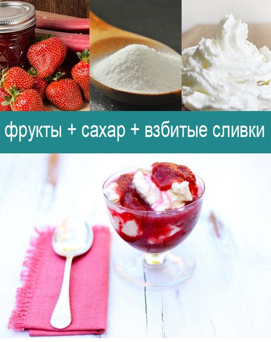 5 простейших рецептов десертов