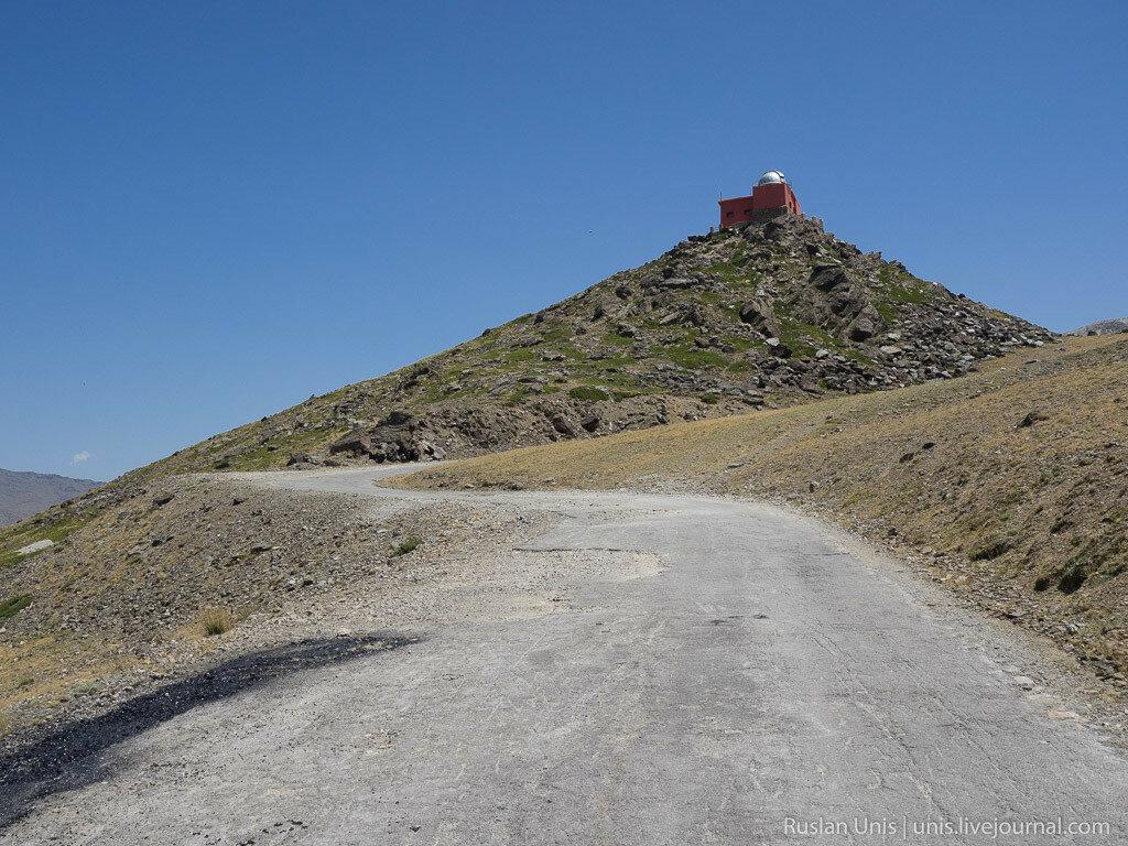 Самая высокая дорога в Европе