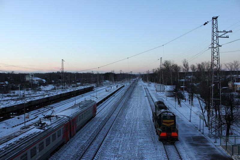 Станция Жилёво