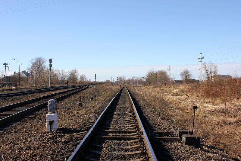Станция Ржев на запад