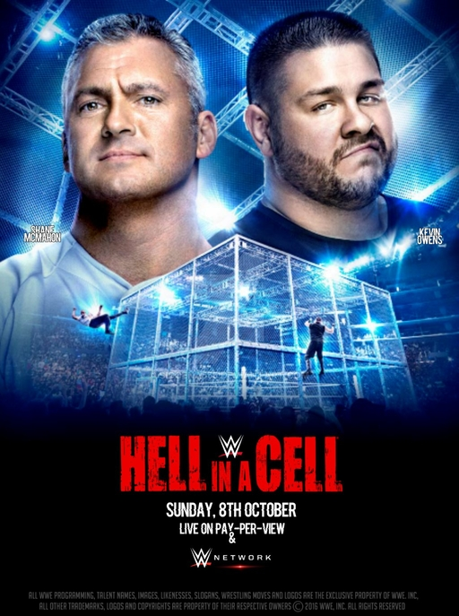 Post image of WWE Hell in a Cell 2017