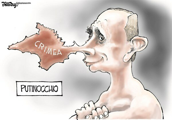 Putinocchio — March 19, 2014 © Bill Day