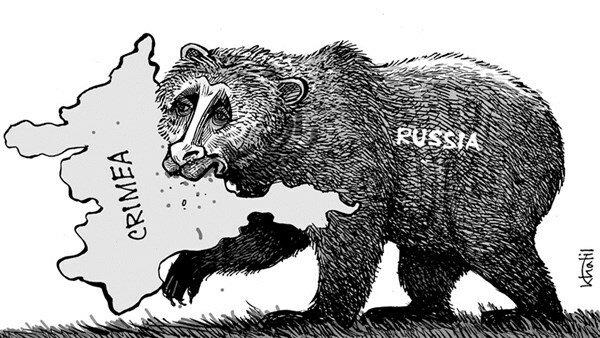 Crimea — March 21, 2014 © Ali Khalil
