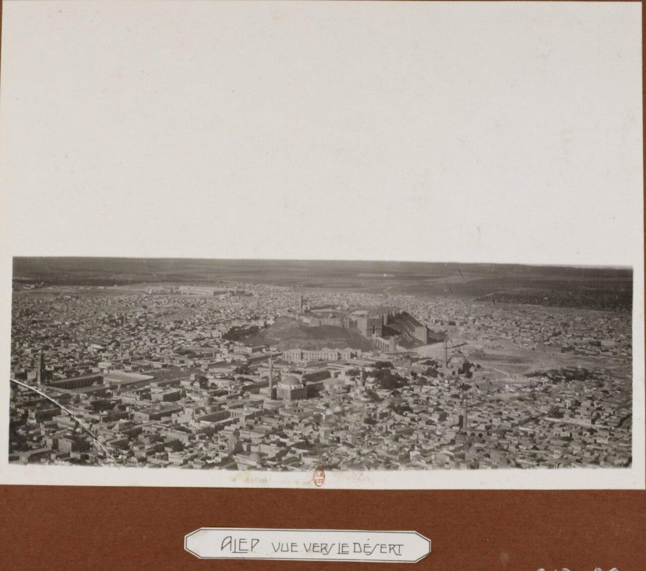 Алеппо: вид на пустыню