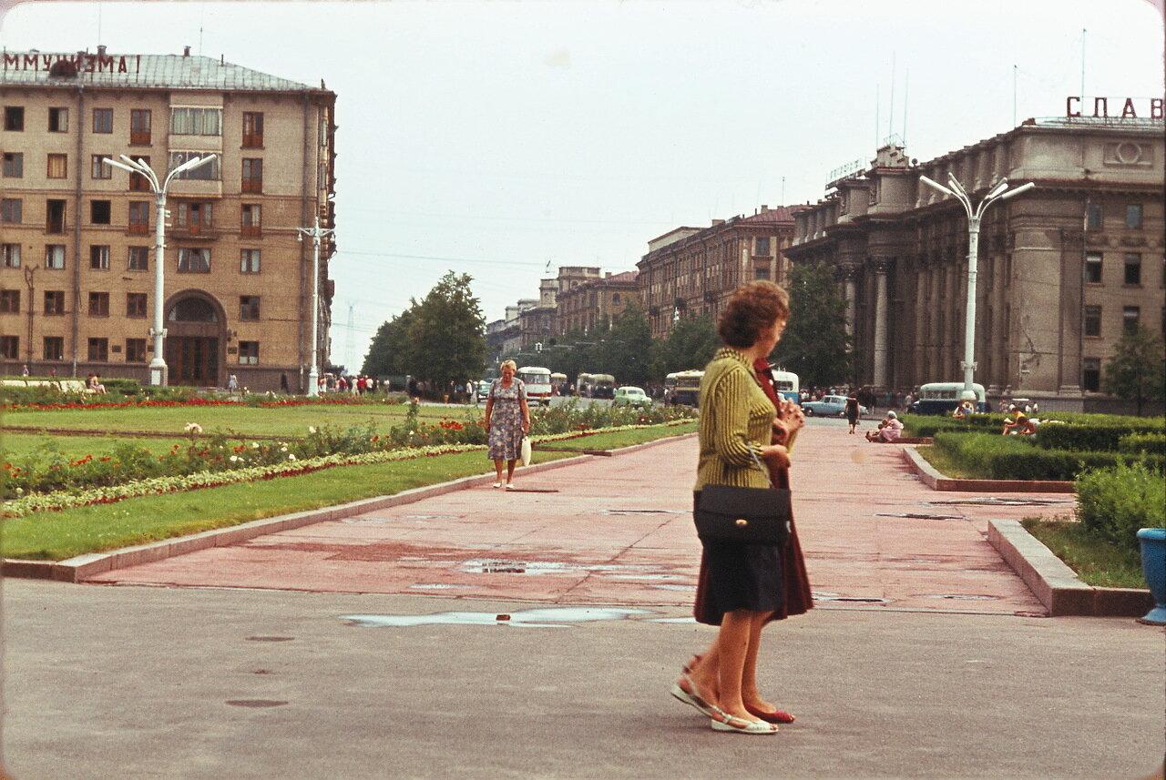 Минск. Площадь Ленина