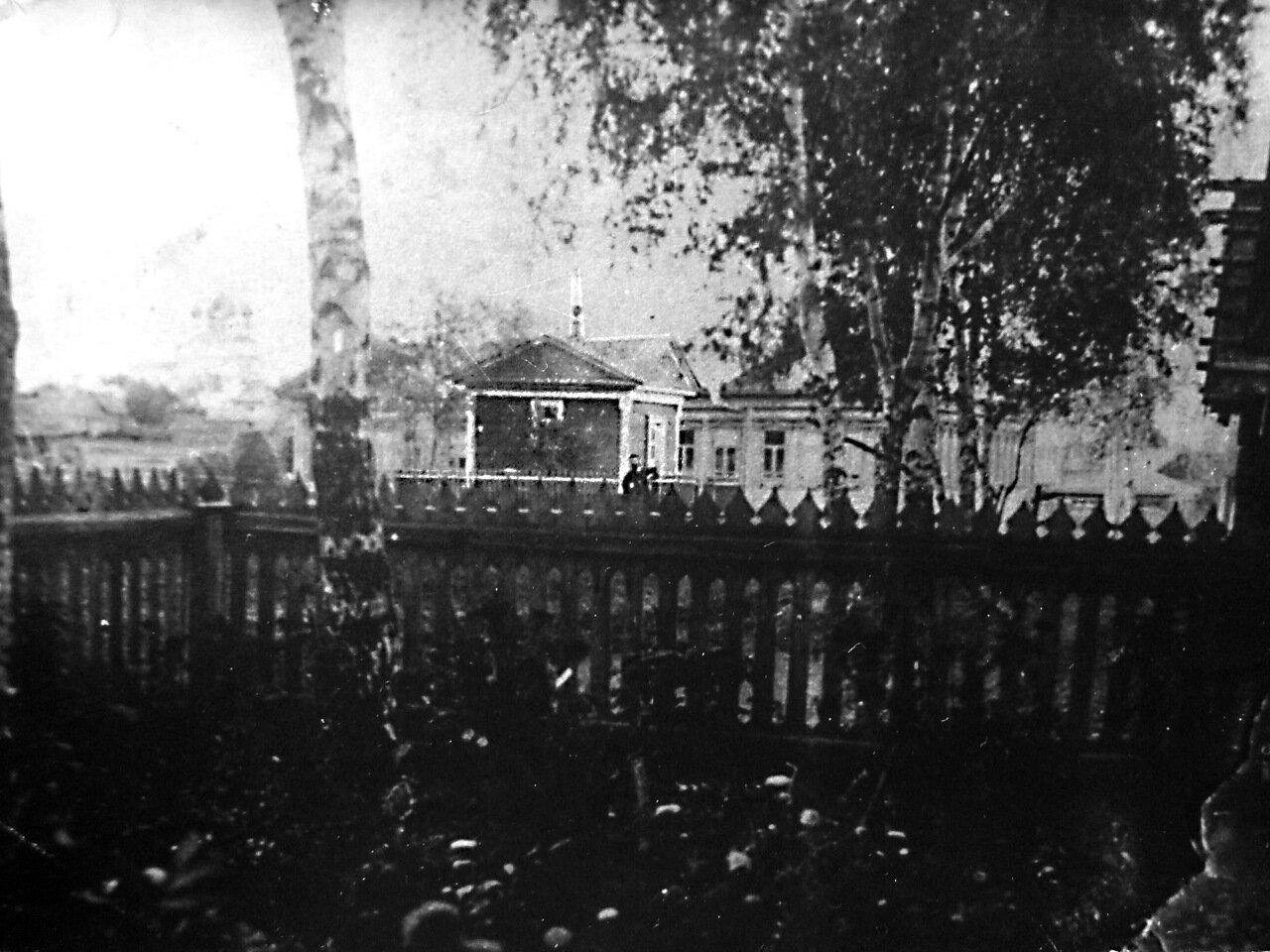 Часовня у мастерских Н.М. Сафонова (напротив Ильинского храма)