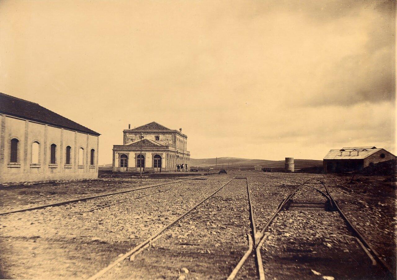 Станция Пуэбла-де-Санчо. Общий вид