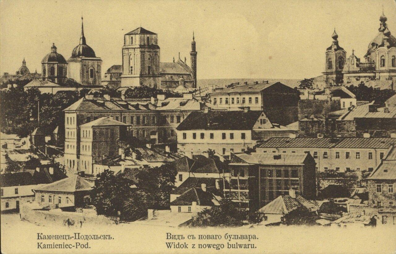 Вид города с Нового бульвара