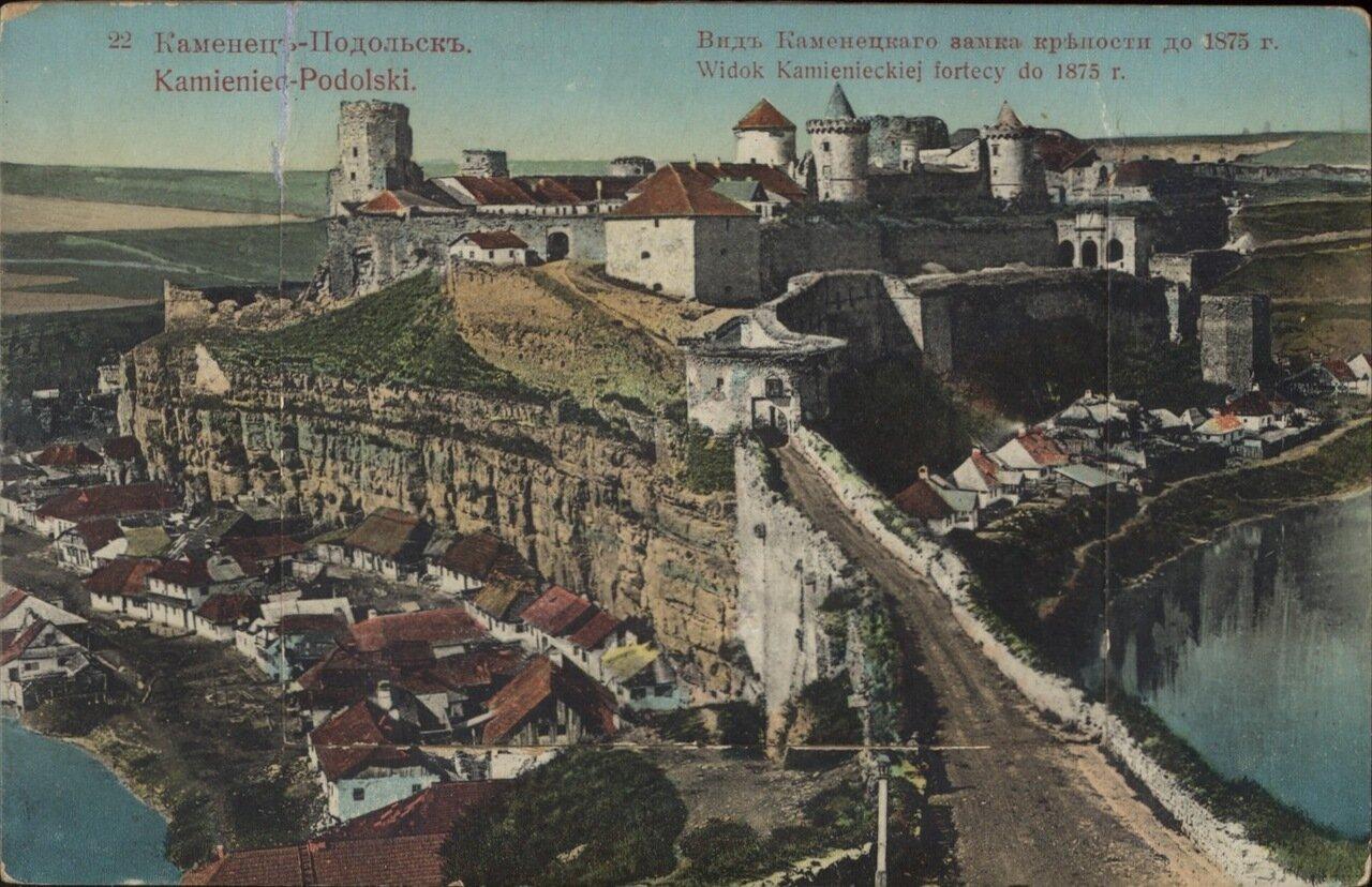 Вид Каменецкого замка крепости