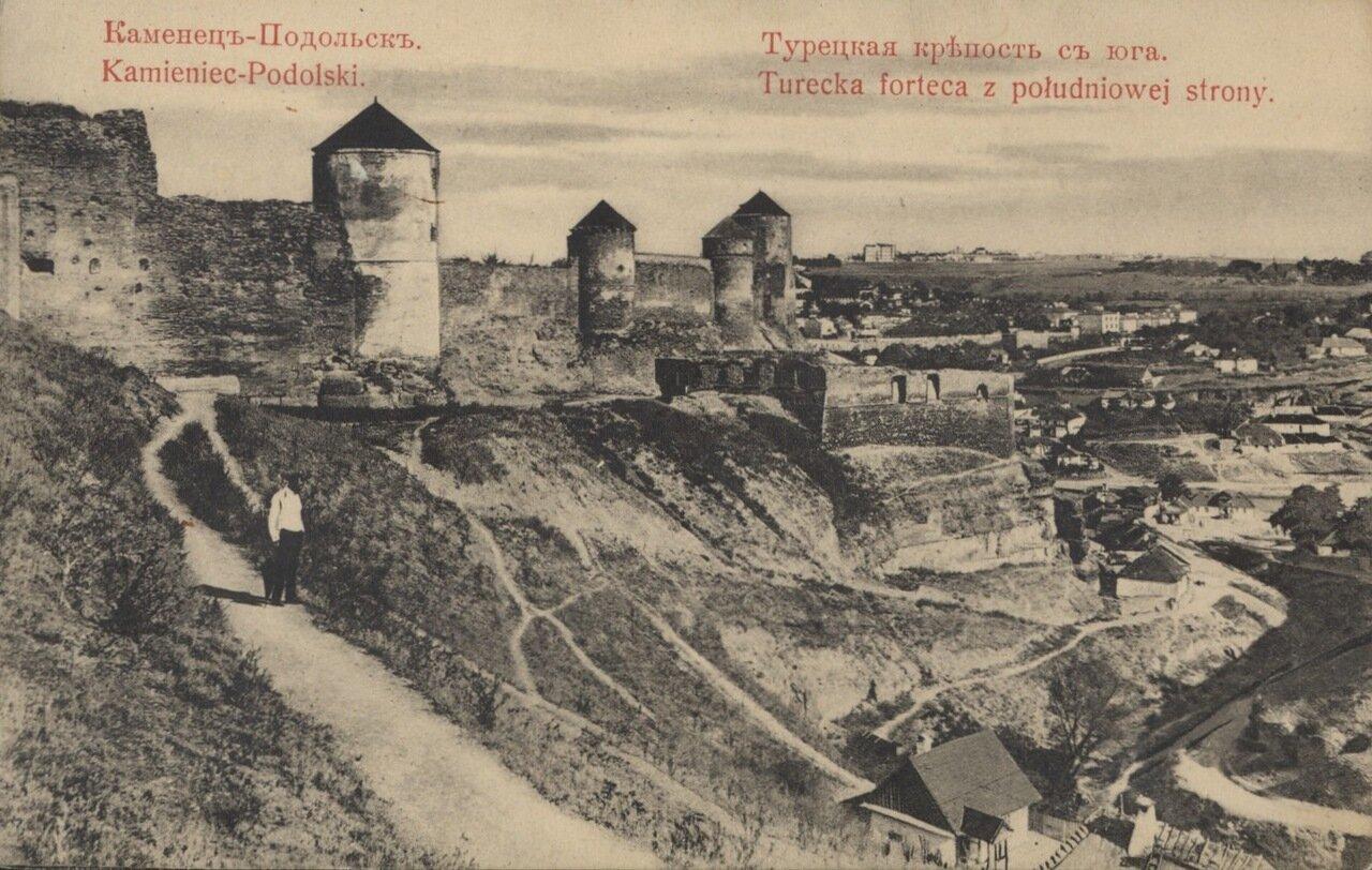 Турецкая крепость с юга