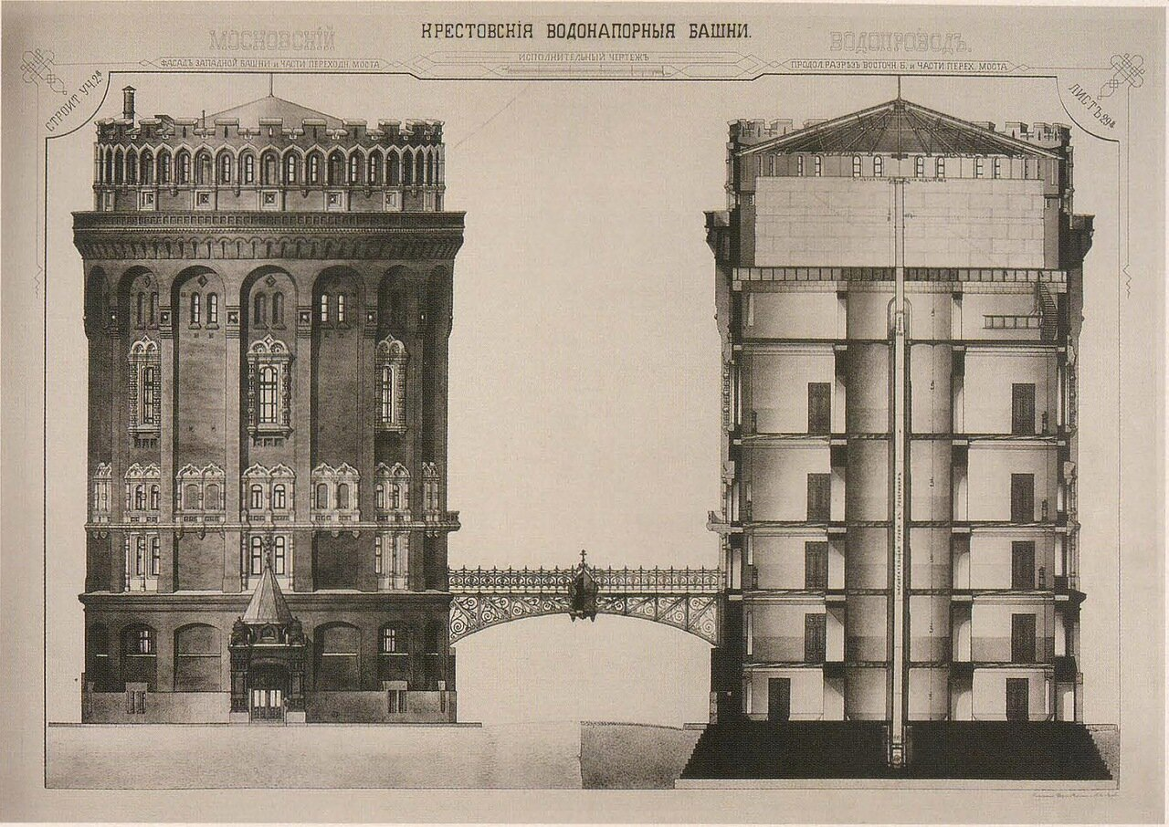 Крестовские водонапорные башни