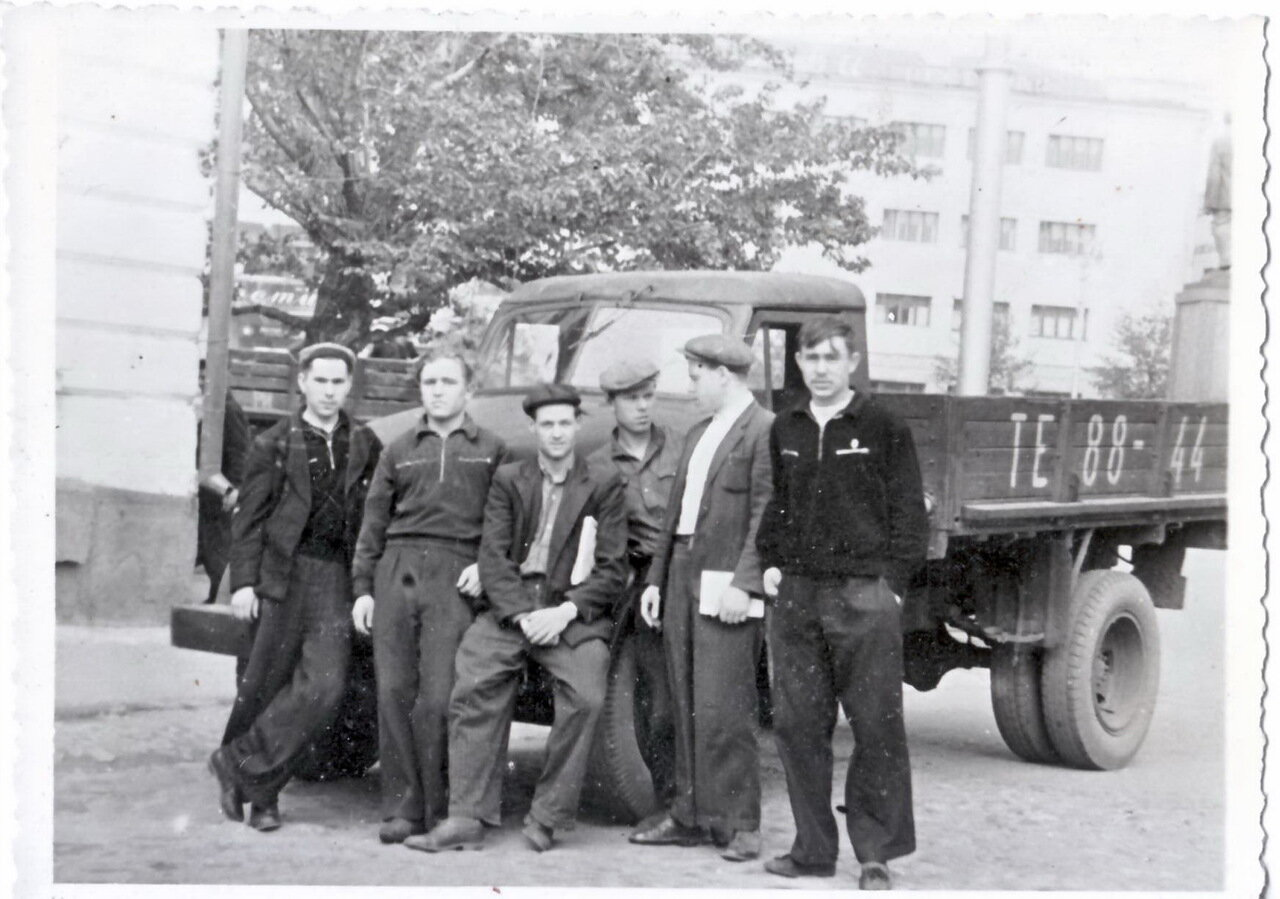 1960-е. На улицах города