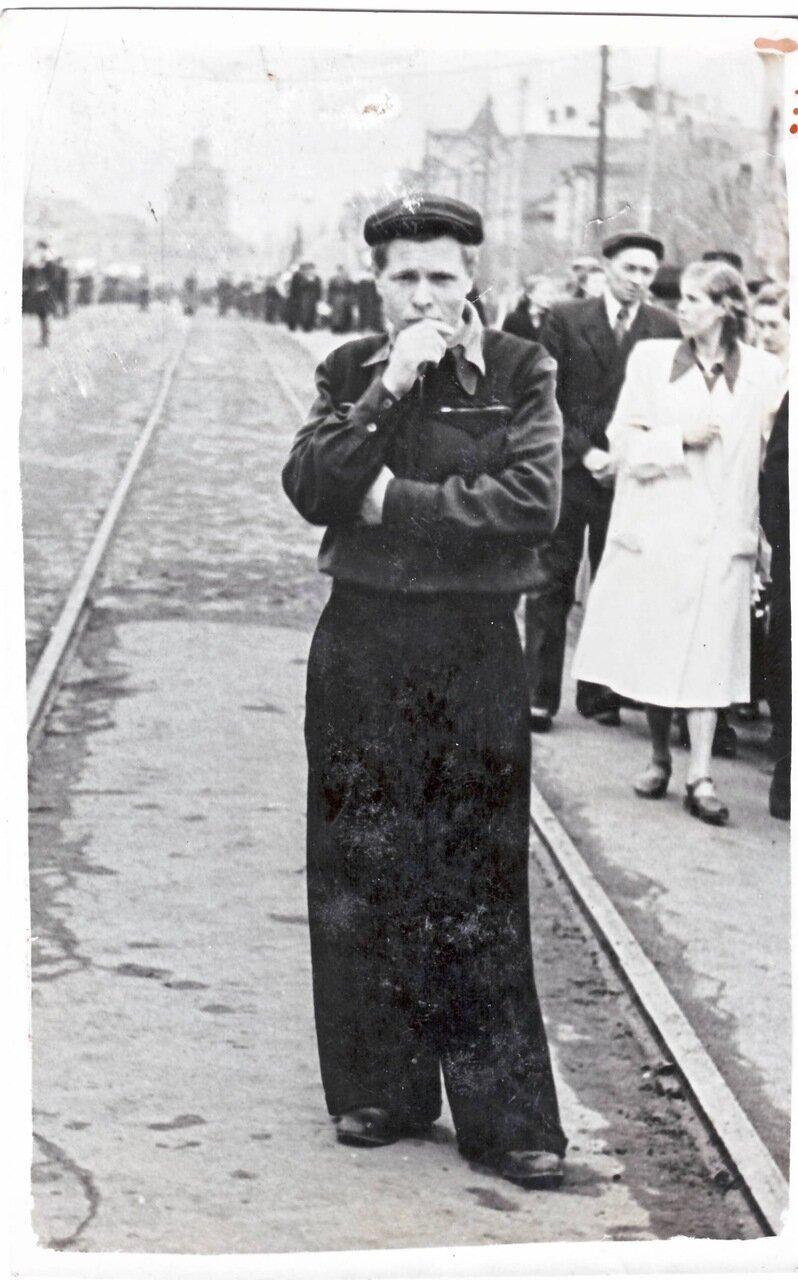 1950-е. На улицах города